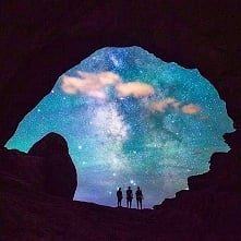 Milky way at Arches National Park, Utah