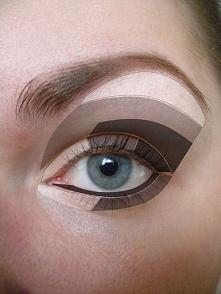 jak malować oko jesienią?