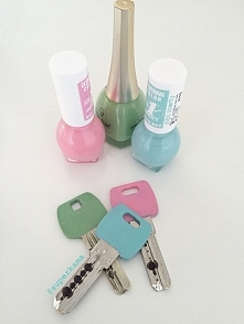 kolorowe klucze :)
