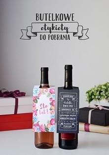 Etykiety na butelkę do pobr...
