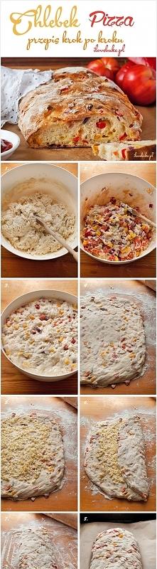 Chlebek pizza ilovebake.pl