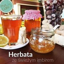 Herbata imbirowa – rozgrzewająca, kojąca, regenerująca. Pobudza krążenie, dzi...