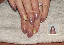 moje paznokcie malowane zwykłymi lakierami ;)