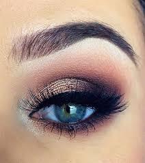 śliczny Makijażidealny Dla Niebieskich Oczu Na Makijaż