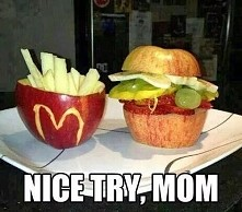 warzywno owocowy McDonald's