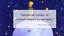 Cytat z Małego Księcia