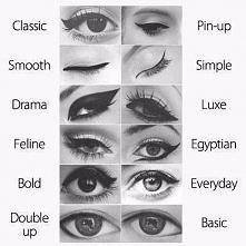 Jak najłatwiej nauczyć się malować kreskę eyelinerem?
