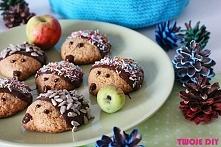 Ciastka jeże / cakes hedgehogs - przepis na twojediy.pl