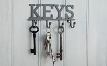 wieszak na klucze..