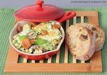 Jajecznica z kurkami na śniadanie