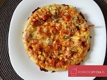Pizza z patelni! :D pomysł na szybki obiad :) przepis krok po kroku po kliknięciu w zdjęcie