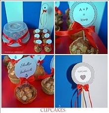 cupcakes - dekoracje na słodkie stoły  KOPALNIA DEKORACJI