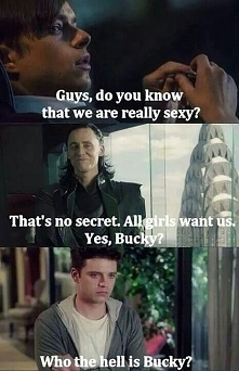 """,,Who the hell is Bucky?"""""""