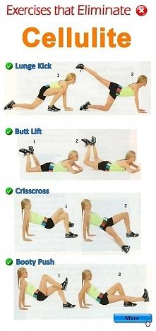 Ćwiczenia na pozbycie się Cellulitu !  Wykonuj codziennie ten zestaw ćwiczeń, a pozbędziesz się niechcianego cellulitisu ;)  Szukasz klubu fitness w swojej okolicy? Bardzo szybk...