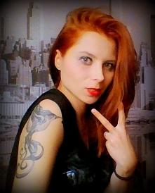 Ruda, rock girl...