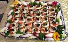 Kolorowe kanapki