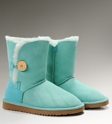 Women UGG Bailey Button Boots Green Sale