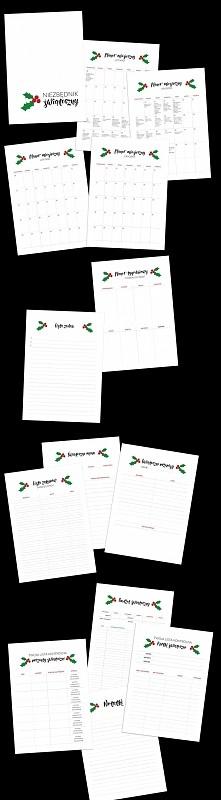 Niezbędnik Świąteczny - 14 stron do wydruku | ZORGANIZOWANA | Zorganizuj się w te Święta - plannery, listy kontrolne i kalendarze!