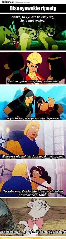 Disney'owe Riposty xD