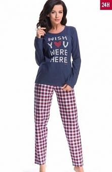 Dobranocka PM.8072 piżama Komfortowa piżama damska, świetny dwuczęściowy komp...