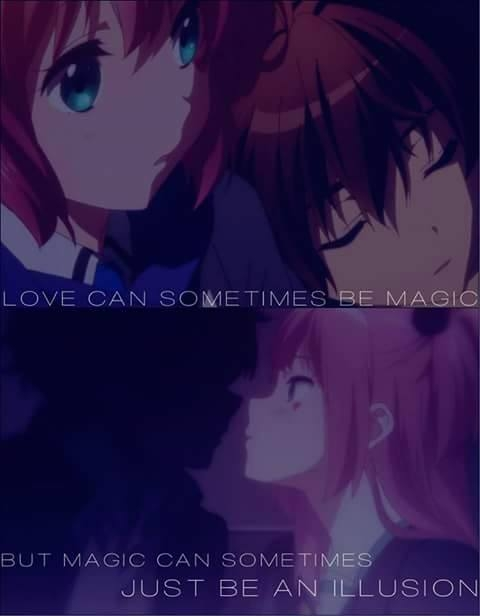 Love Can Be Magic Na Anime Cytaty Zszywkapl