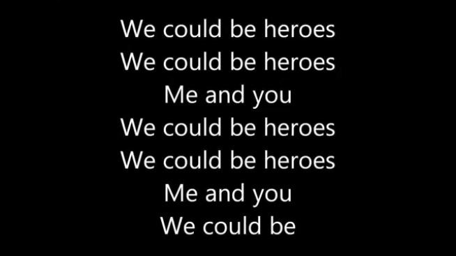 Możemy być bohaterami :)