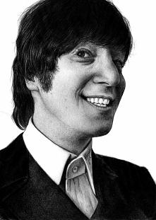 John Lennon, po prostu Artysta przez wielkie A.   Mam w zwyczaju uwieczniać w...