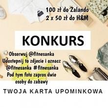 Zapraszam do udziału w konkursie na moim instagramie @fitnesanka :)