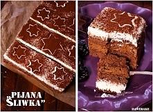 """Ciasto """"pijana śliwka"""" z nu..."""