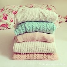 sweterki... <3