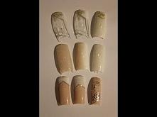 Paznokcie ślubne zdobienia- lakiery Cosmetics Zone M&A Beauty Śliczne ślubne paznokcie