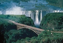 Zimbabwe, wodospad Wiktorii