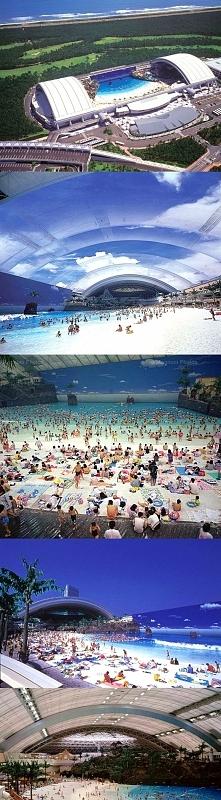 Sztuczna plaża w Miyazaki, Japonia