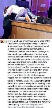 piękne... Jared i Jensen są...