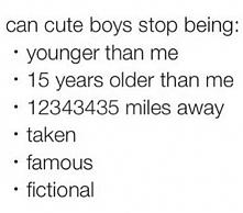 ale głównie niech przestaną być fikcyjni i sławni, a co za tym idzie starsi i...