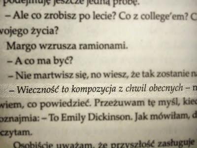 Papierowe Miasta Na Cytaty Z Książek Zszywkapl