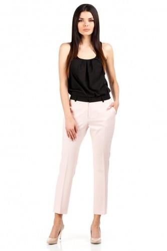 Eleganckie spodnie przed kostkę na Długie spodnie eleganckie