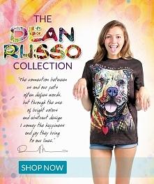 Dean Russo - koszulki dla tych, którzy kochają zwierzęta!