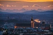 tatry widziane z Krakowa <3