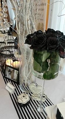 ...motyw wesela czerń&biel