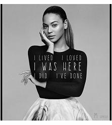 Beyonce <3 Grafika mojej roboty ;)