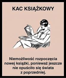 Kac książkowy Kto czyta ten...