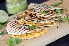 Quesadilla z kurczakiem z chipotle w sosie adobo