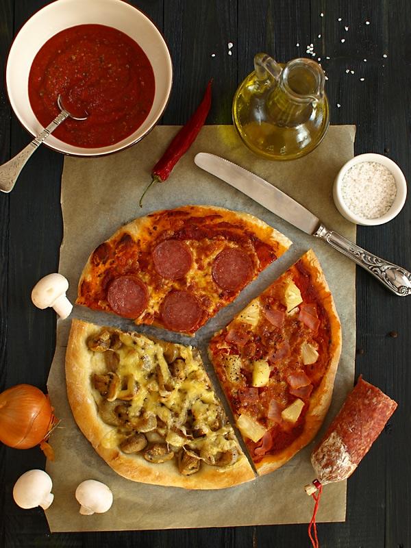 Pizza - przepis na ciasto