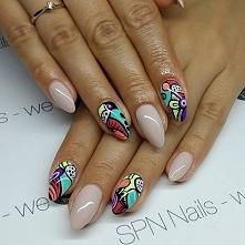 Nie bójmy się kolorów!!!   Produkty SPN Nails.  Nails by AliceNails.