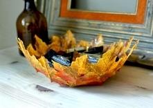 Jak zrobić miskę z jesiennych liści? | Kliknij w zdjęcie