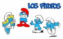 Los pitufos-smerfy po hiszpańsku