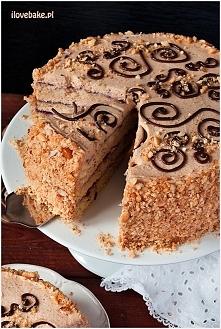 Tort orzechowy ilovebake.pl