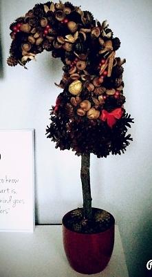 Drzewko świąteczne, choineczka
