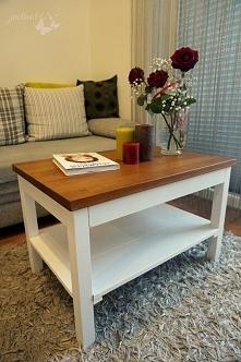 Drewniany stolik kawowy. Jak zrobić? Zapraszam na blog!